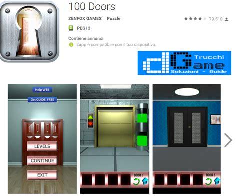 soluzione 100 doors e room horror livello 2 100 doors room escape livello 13 doors e rooms 2 soluzioni