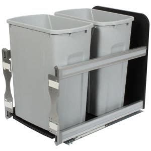 Cabinet Trash Can Home Depot by Knape Vogt 19 19 In X 14 81 In X 22 44 In In Cabinet