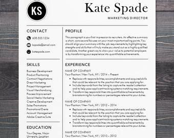 Sale Creative Resume Template Modern Design Mac Or Pc Word Modern Resume Template Free