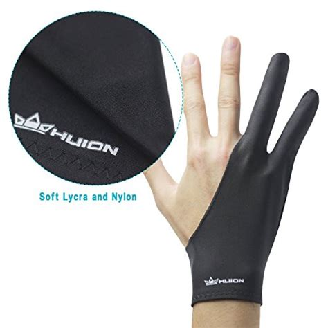 Drawing Glove by Huion Artist Glove For Drawing Tablet 1 Unit Of Free Size