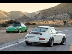 Stinger Porsche Singer Porsche 911 Applied To The Far Superior Cayman