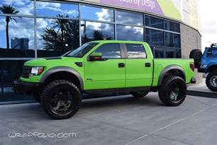 Green Ford Lime Green Ford Raptor Wrap Wrapfolio