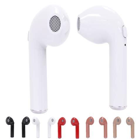 Fh030 Hbq I7 Tws Wireless Headset Earphone Bluetooth Mini V4 2 hbq i7 tws wireless earbuds mini bluetooth v4 2