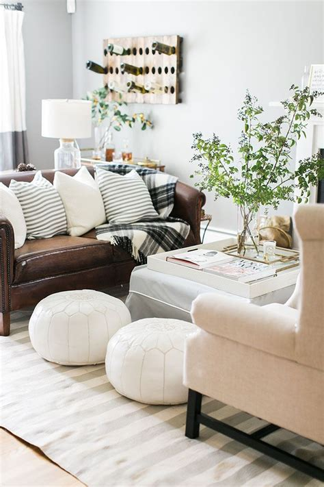 Brown Leather Decor by 17 Best Ideas About Brown On Brown