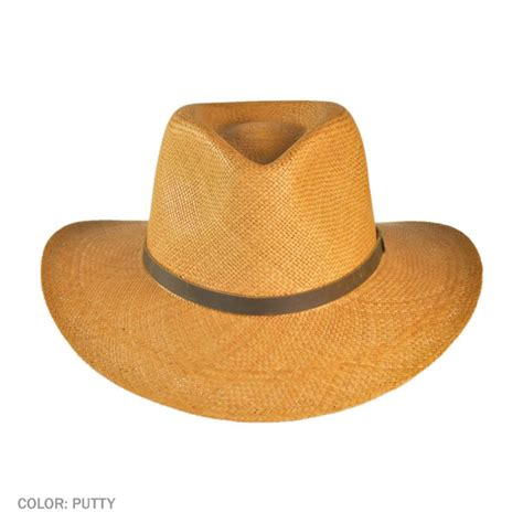 Hats To You by Jaxon Hats Mj Panama Straw Outback Hat Straw Hats