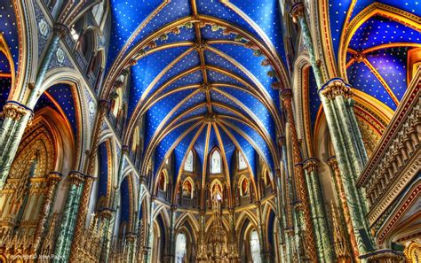 Home Interior Painting Tips Notre Dame Cathedral Basilica Ottawa By John Paper