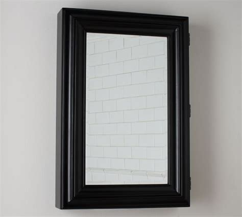 black wall mounted medicine cabinet page wall mounted medicine cabinet black pottery barn