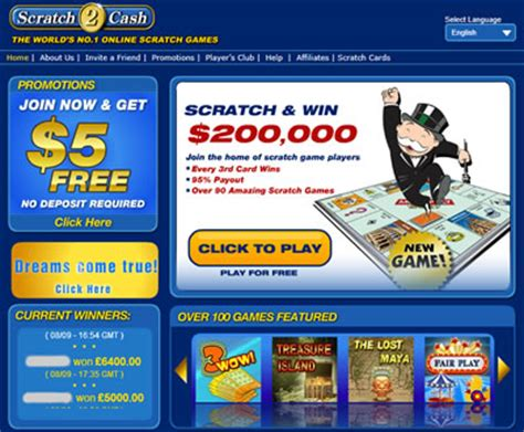 Play Scratchers Online And Win Money - scratch 2 cash scratch offs