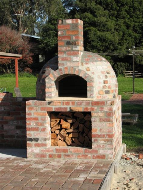 brick oven for backyard 1000 ideas about brick ovens on pinterest pizza ovens