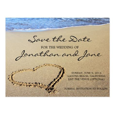 Save The Date Wedding Cards Template Free by Wedding Save The Date Postcard Zazzle