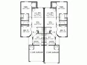 Floor Plans For Narrow Lots bungalow duplex plans joy studio design gallery best
