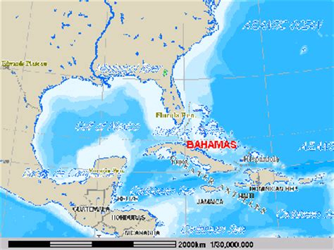 where is the bahamas located on the world map bahamas world map location