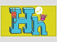"""ABC Song: The Letter H, """"Say Hello To Your Good Friend, H ... H"""