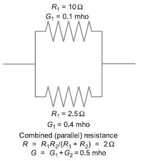 two 4 ohm resistors are connected in parallel resistance in parallel basic information and tutorials electrical engineering design and