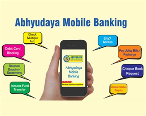 mobile banking services abhyudaya co operative bank mobile banking