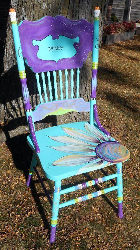 painted chairs images carolyn s funky furniture the painted chairs