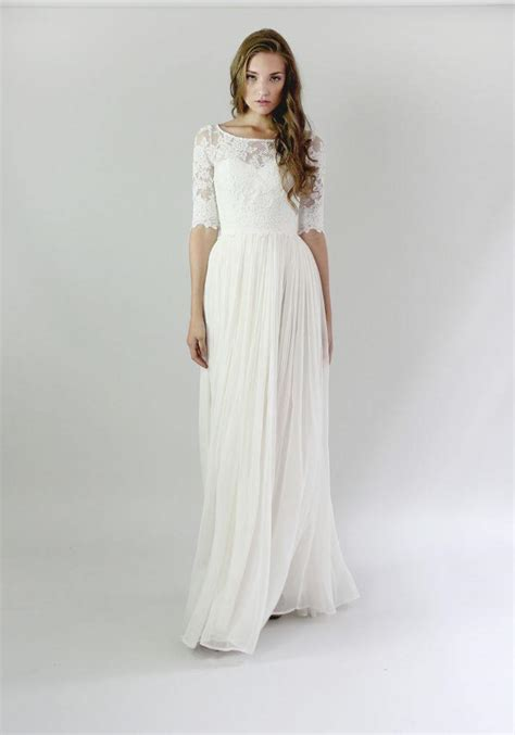 Wedding Dresses Casual by Casual Wedding Dresses For The Minimalist Modwedding