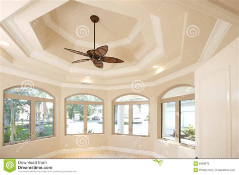 home office ceiling fan home office with a vaulted ceiling royalty free stock