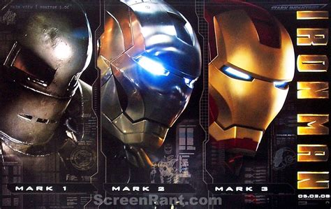 iron man poster evolution film