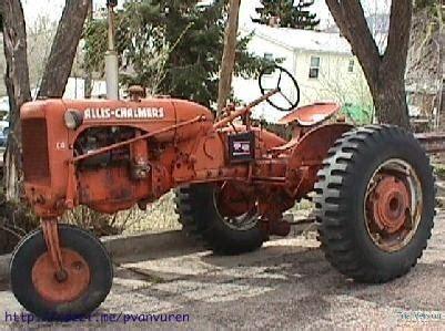 Lu Alis Motor 1957 allis chalmers ca a few more parts than mine