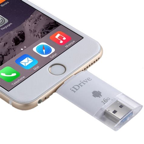 Memory Iphone 16gb 2 in 1 micro usb 2 0 8 pin usb idrive ireader flash memory stick for iphone 6 6s