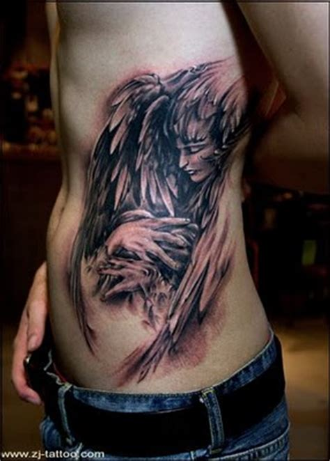 dark angel tattoo designs with and wings designs tattoomagz