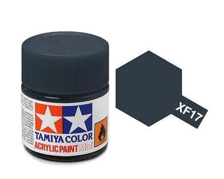 Tamiya Enamel Sea Blue Xf17 tamiya paint acrylic mini xf17 sea blue 10ml bottle paint