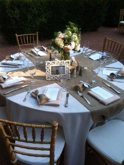 burlap wedding decor ideas burlap inspired country weddin 25 best ideas about burlap table settings on pinterest