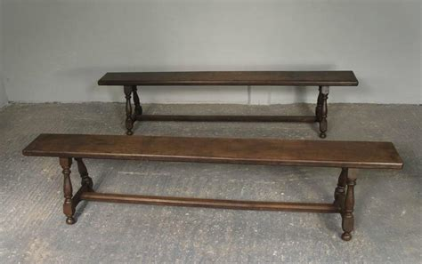 hallway benches for sale pair of 19th century english oak joint hallway benches for