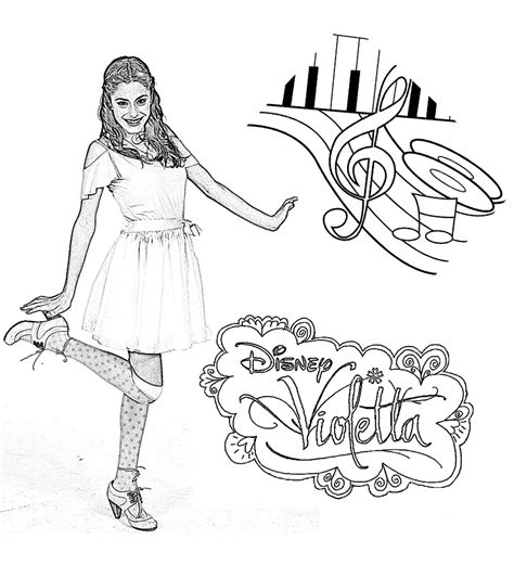 printable coloring pages violetta violetta 8887 violetta coloring for kids