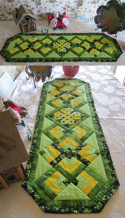 s day table runner st s day table runner quilts and other delights