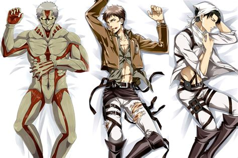 these attack on titan anime characters are