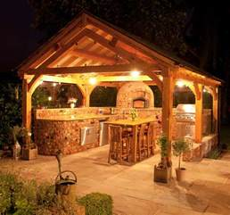 28 gazebo lighting ideas and projects for your backyard a custom outdoor kitchen will increase your property value