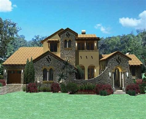 southern custom homes tuscany villa custom home has 3 804 square feet