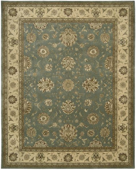 nourison 2000 rugs nourison 2000 2210 lt blue traditional area rug carpetmart