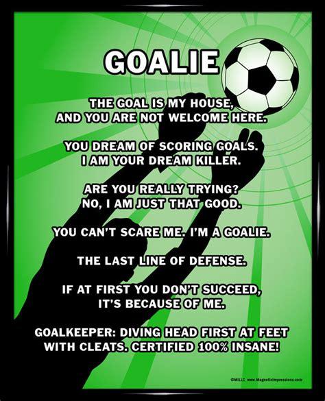 printable soccer quotes soccer goalie 8x10 sport poster print soccer goalie