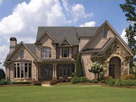 brick homes plans brick house exterior designs brick french country house
