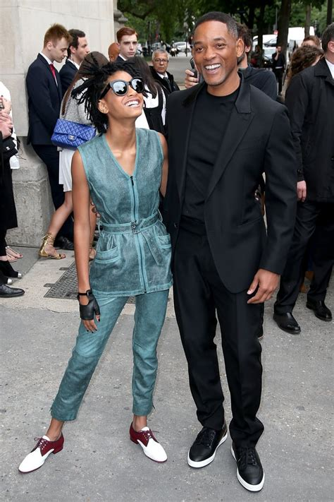 Willow Smith Wardrobe - will smith and willow smith at fashion week july