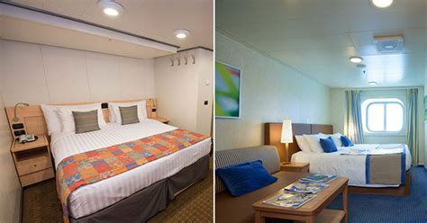 cruise room types inside vs outside cruise cabins a cabin comparison cruise critic