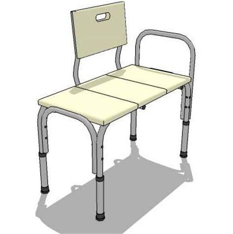 Chair For Bathtub by Bathtub Chair 3d Model Formfonts 3d Models Textures