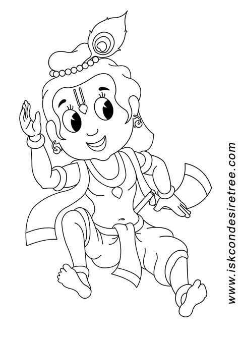 Outline Pictures Of God Krishna by Krishna Coloring Pages Sketch Coloring Page