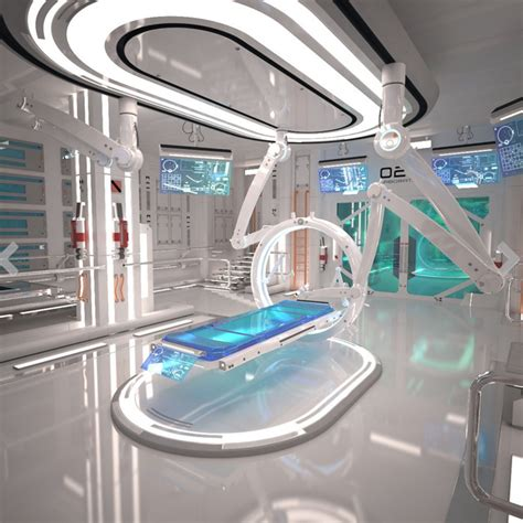 3d design lab google sci fi laboratory interior 3d model free by a cermak on