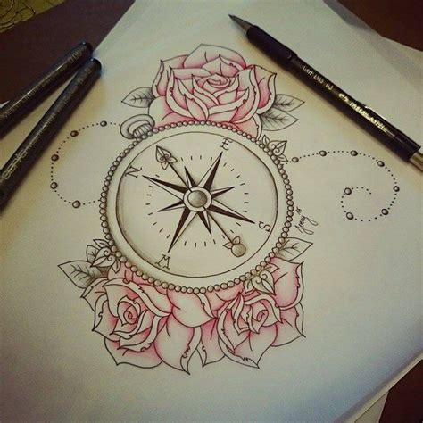 compass tattooawesome tatuajes pinterest tatuajes