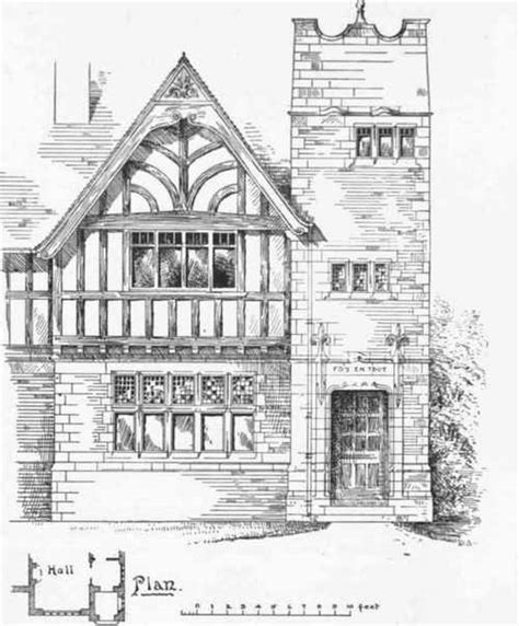 Half Timbered House Plans by Half Timber Home Design