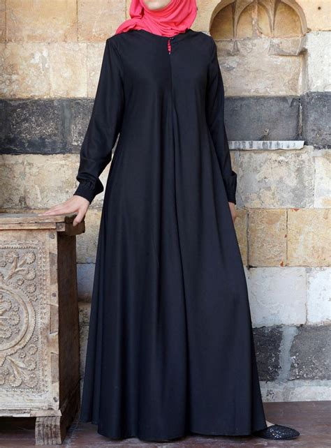 shukr usa easy care flared abaya