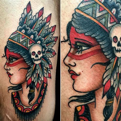 new school tattoo uk new traditional tattoo indian tattoo pinterest