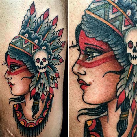 tattoo old school indian new traditional tattoo indian tattoo pinterest
