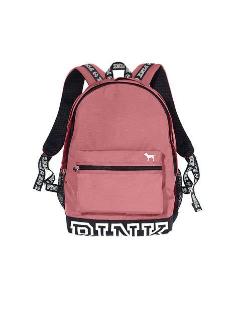 The Pink Bag cus backpack pink s secret p i n k