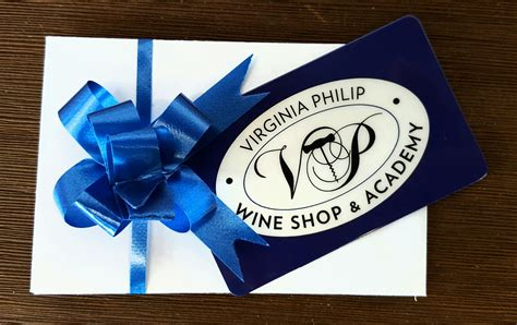 Wine And Spirits Gift Card - 100 gift card virginia philip wine spirits academy