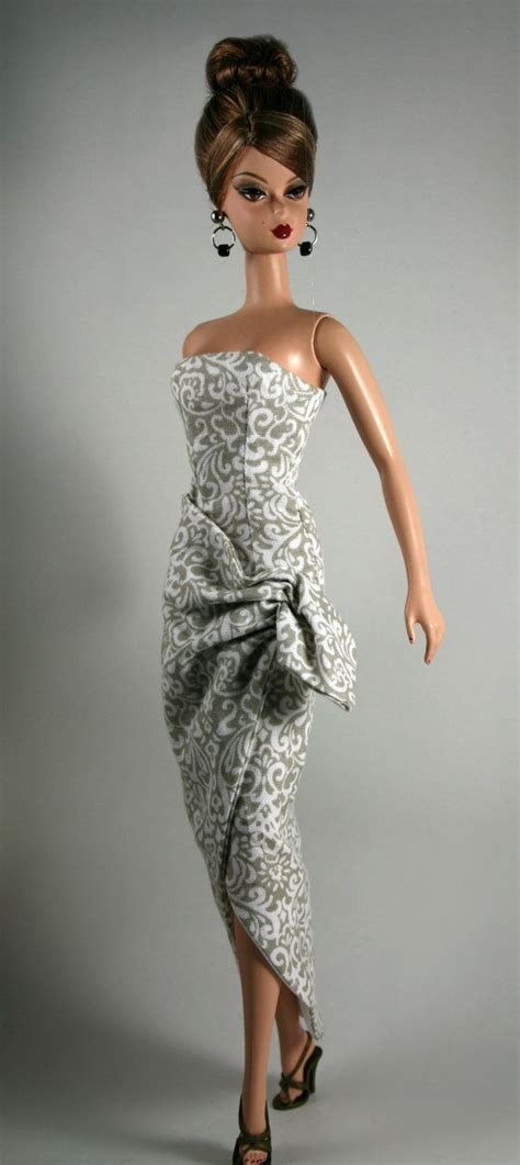 fashion doll vintage vintage sarong style dress for silkstone